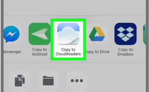 How to open CBR file on iPad
