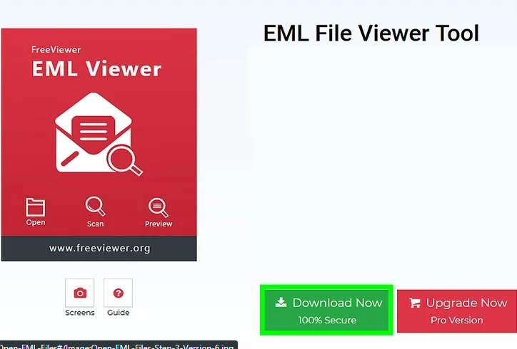 How to open EML file on Windows