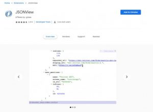 How to open JSON file in Browser