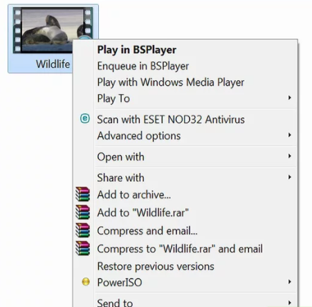 How to open MP4 file in mac