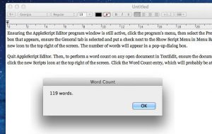How to open ODT file on Mac
