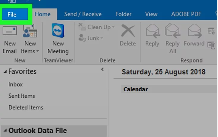 How to open Vcf file on Outlook